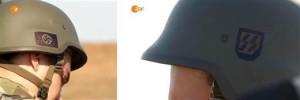 Helmets of the Ukrainian Azov battalion: Your tax dollars at work